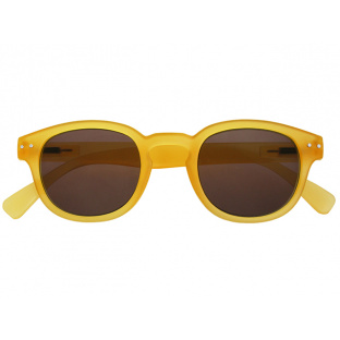 'Holiday' Reading Glasses Yellow