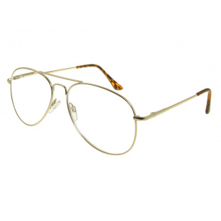 'Ace' Reading Glasses Gold
