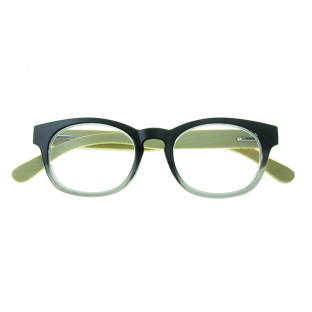 'Picadilly' Natural Bamboo Readers Black/Gray