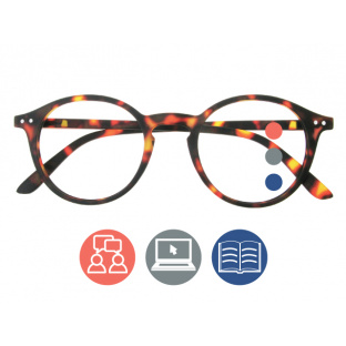 'Sydney Multi-Focus' Progressive Reading Glasses Tortoiseshell
