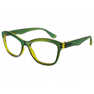 Reading Glasses 'Margot' Green And Yellow