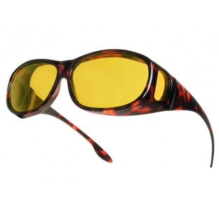 'Night-Vision Coverspecs' Sunglasses Tortoiseshell