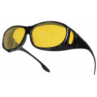 'Night-Vision Coverspecs' Sunglasses Black