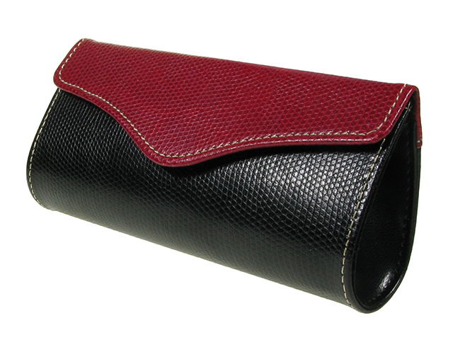 Purse Two Tone Red Side