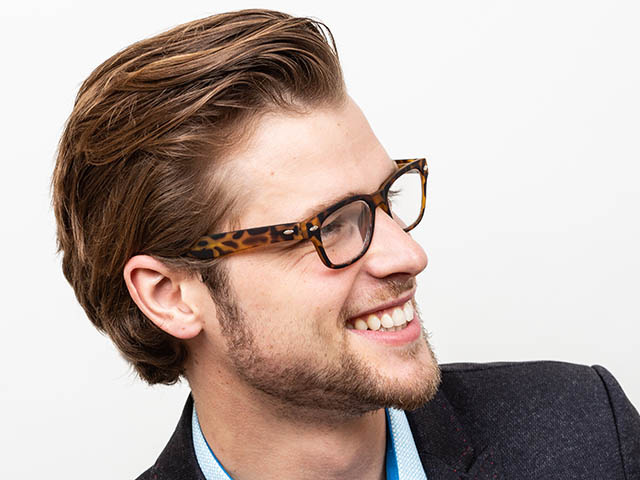 'Charlie' Reading Glasses Tortoiseshell