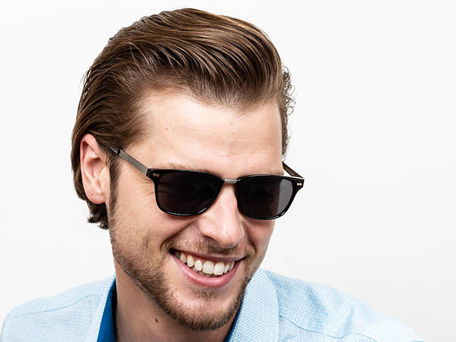 'Frankie' Reading Sunglasses Black