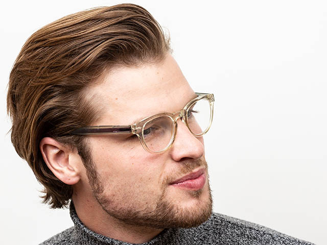 'Metro' Reading Glasses Transparent