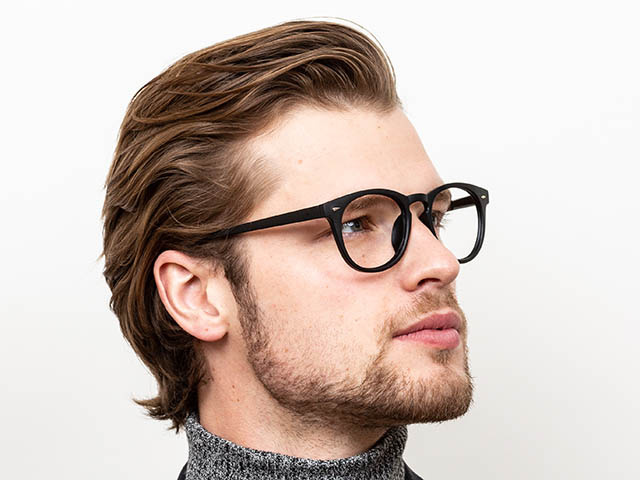 'Holborn' Reading Glasses Matte Black