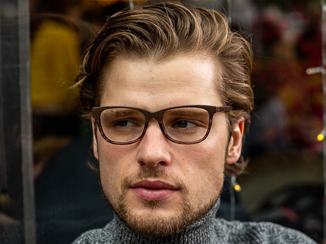 'Dulwich' Reading Glasses Brown