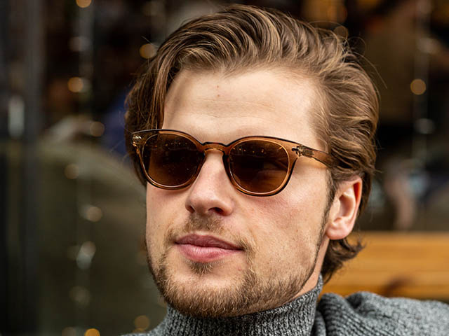 'Tyler' Reading Sunglasses Brown