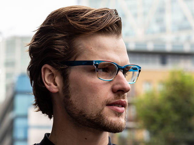 'Carnival' Reading Glasses Blue Multi