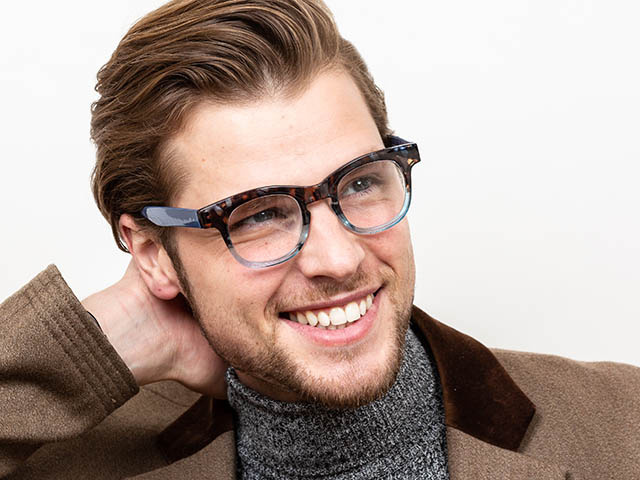 'Bravo' Reading Glasses Blue
