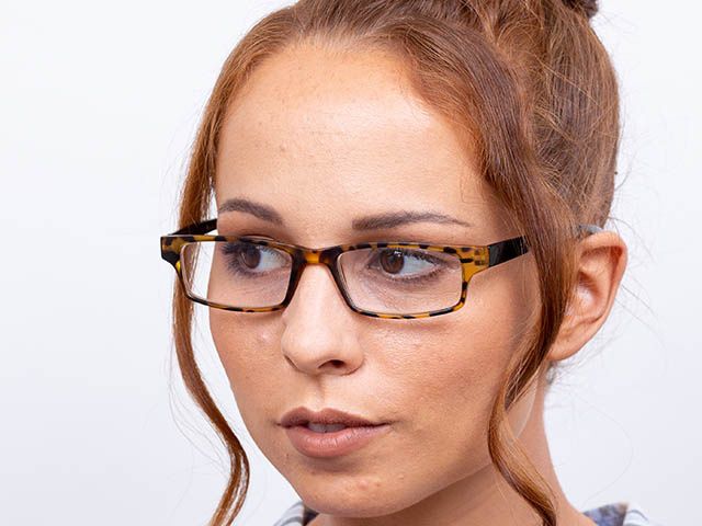 'Neck Specs' Reading Glasses Tortoiseshell/Black