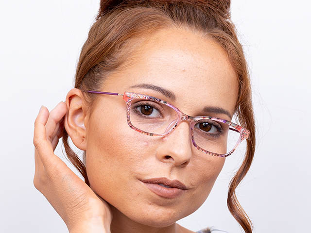 'Olivia' Reading Glasses Purple