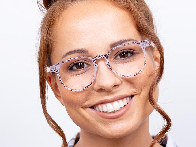 'Surrey' Reading Glasses Pink