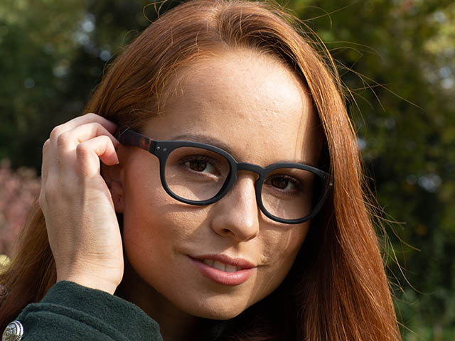 'Greenwich' Reading Glasses Black/Tortoiseshell