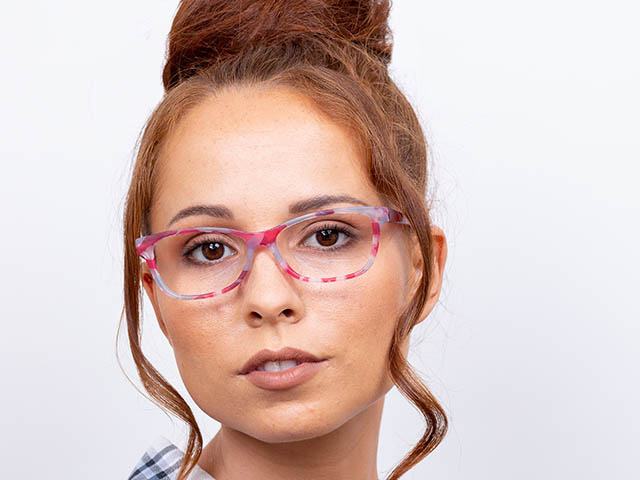 'Emily' Reading Glasses Fuchsia