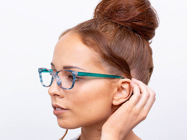 'Emily' Reading Glasses Turquoise