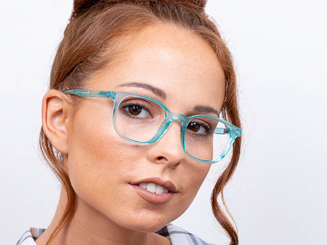 'Perrie' Reading Glasses Blue