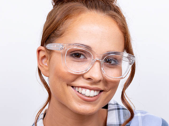 'Encore' Reading Glasses Transparent