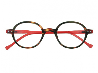 Campbell red/tortoiseshell front