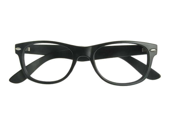'Billi' Reading Glasses Matte Black