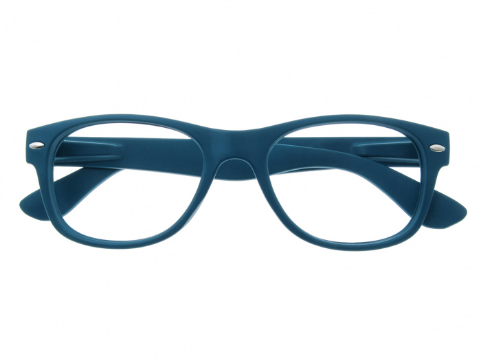 'Billi' Reading Glasses Matte Blue