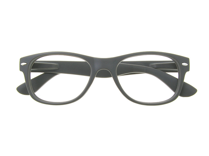 'Billi' Reading Glasses Matte Gray