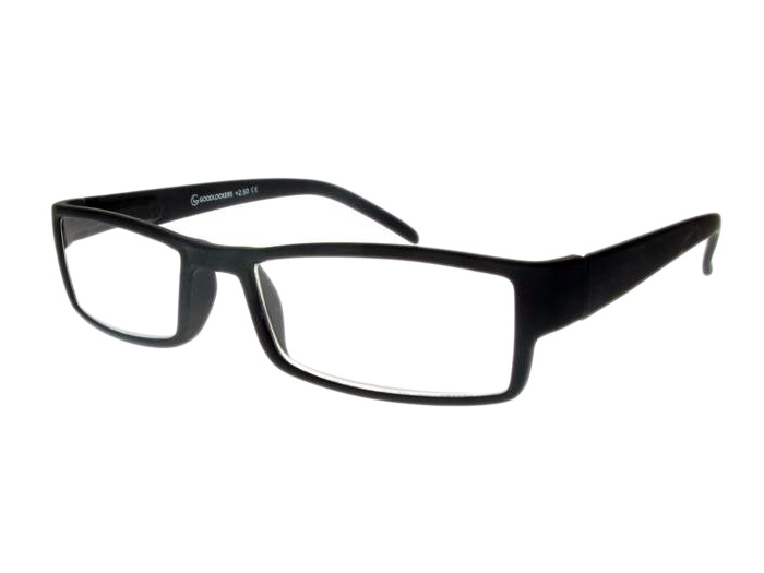 'Detroit' Reading Glasses Matte Black