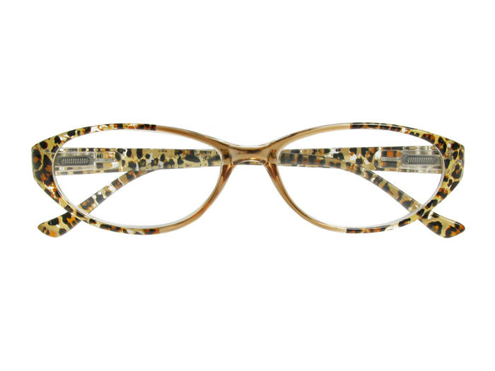 'Lynx' Reading Glasses Brown