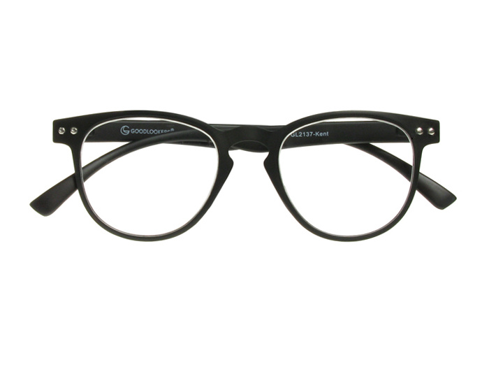 'Kent' Reading Glasses Matte Black