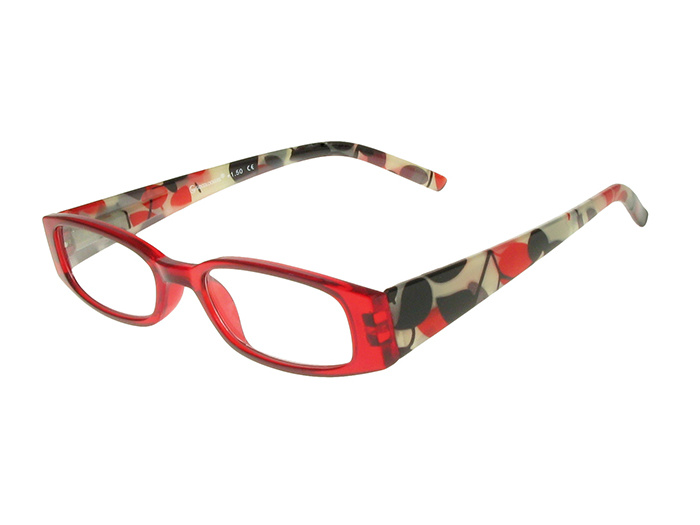 'Blenheim' Reading Glasses Red