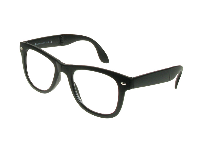 'Pocket Specs' Folding Reading Glasses Matte Black