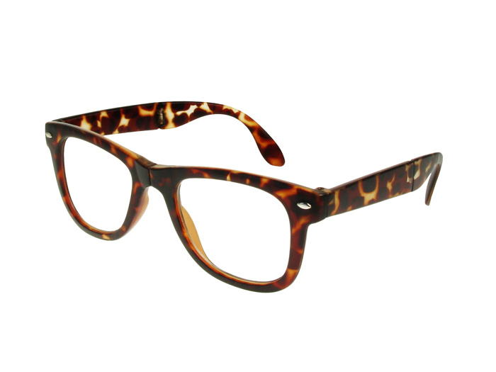 'Pocket Specs' Folding Reading Glasses Tortoiseshell