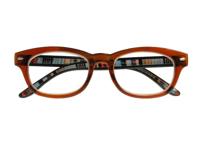 'Tate' Reading Glasses Brown