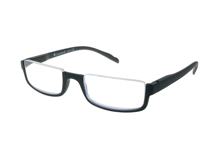 'Sloane' Reading Glasses Matte Black