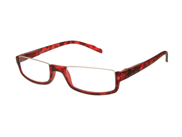'Sloane' Reading Glasses Red