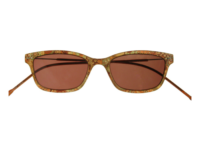 'Olivia' Reading Sunglasses Brown