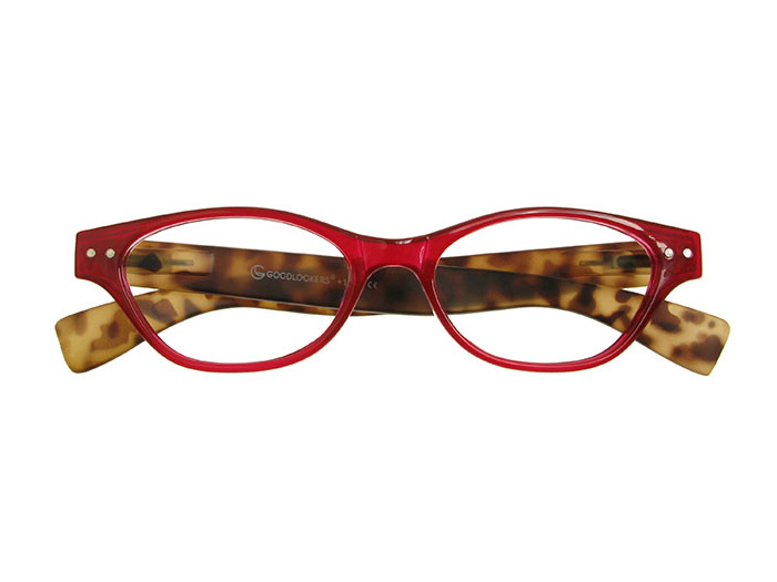 'Layla' Reading Glasses Red/Tortoiseshell