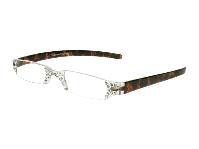 'Quartet' Reading Glasses Leopard Print