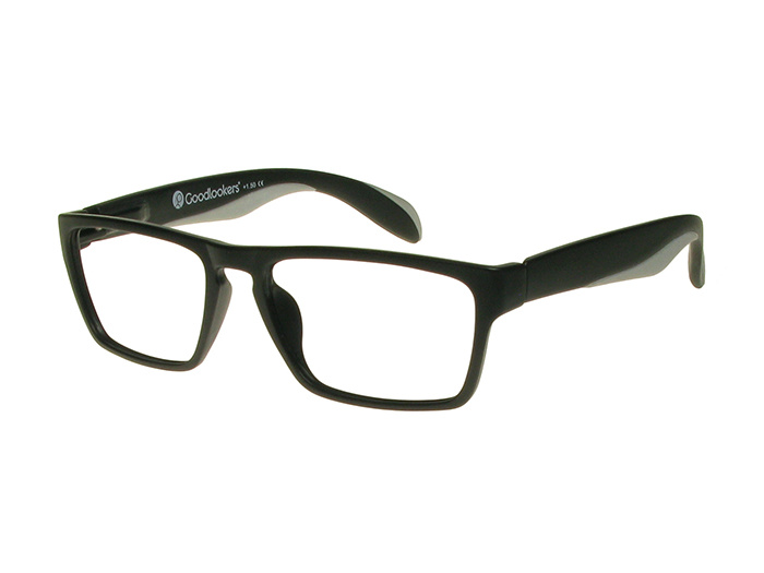 'Dean' Reading Glasses Black/Gray
