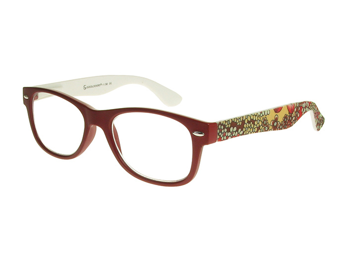 'Lizzy' Reading Glasses Red