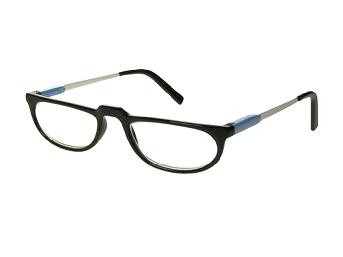 'Lucy' Reading Glasses Black/Blue