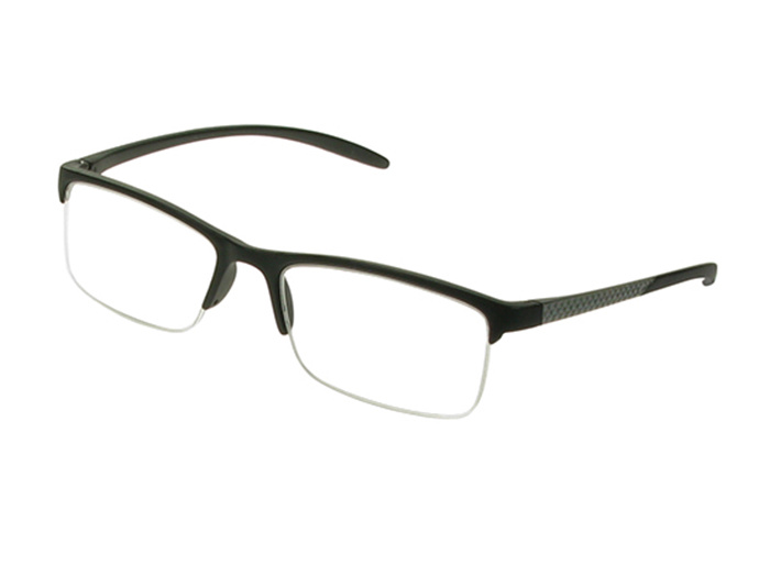 'Parliament' Reading Glasses Matte Black