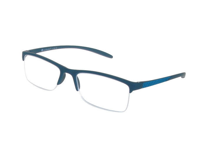 'Parliament' Reading Glasses Matte Blue