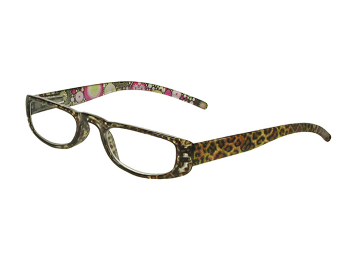'Lexi' Reading Glasses Brown Leopard