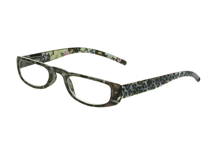 'Lexi' Reading Glasses Gray Leopard