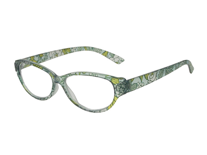'Lulu' Reading Glasses Blue Floral
