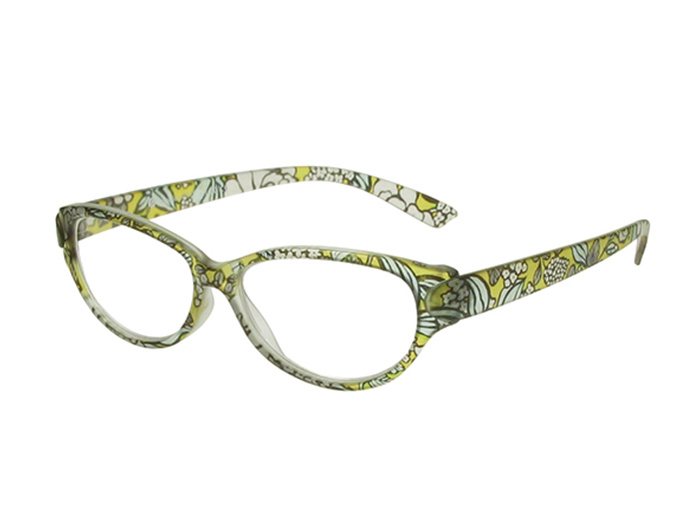'Lulu' Reading Glasses Yellow