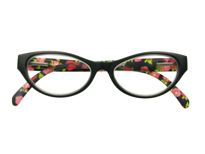 'Summer' Reading Glasses Black